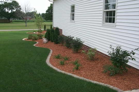 Wood Edging For Paver Install Lawnsite Com Lawn Care
