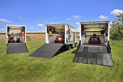 Who Ramp S The Mower S In A Box Truck Lawnsite