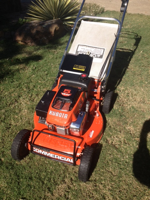 Kubota W5021scc Self Propelled Commercial Model Lawnsite