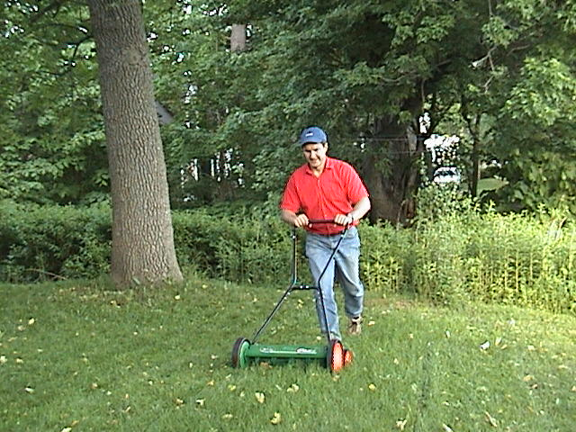 Mike with reel mower.jpg