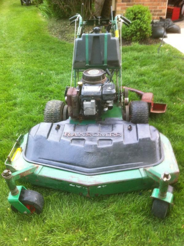 "Used Tires Dayton Ohio >> Bobcat 48"" walkbehind mower 