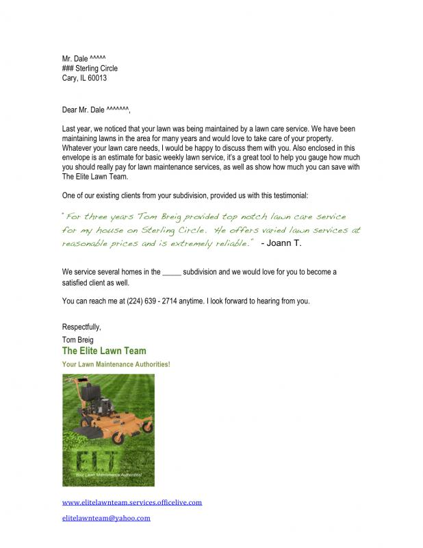 New potential customer letter lawnsite new potential customer letterg spiritdancerdesigns Choice Image