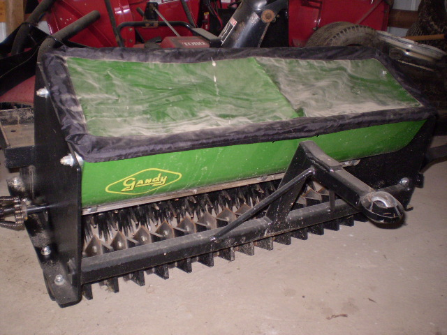 Z Plugger ride on zero turn aerator & slice seeder for sale | LawnSite