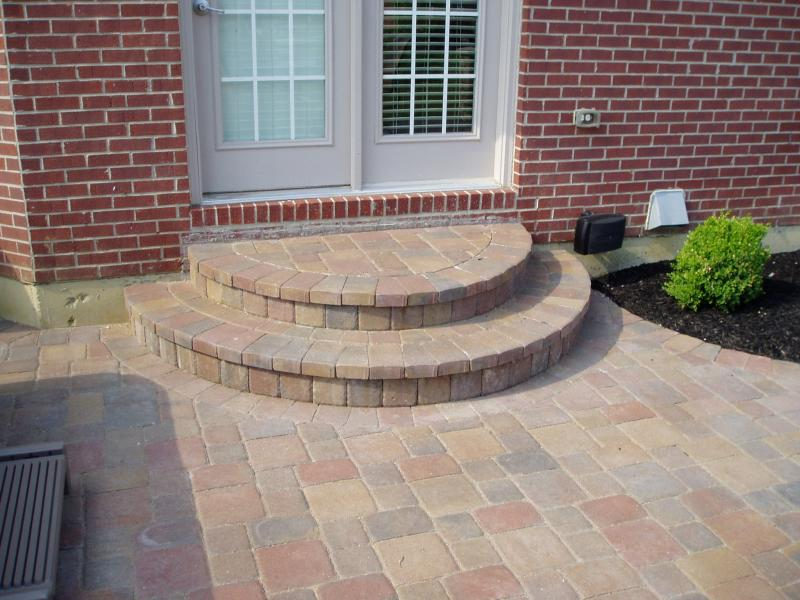 Paver Step Installation Lawnsite