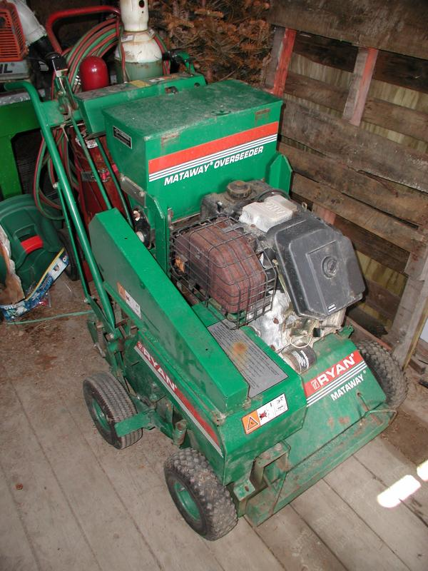 Ryan Mattaway Slit Seeder for sale | LawnSite