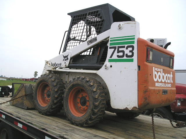 1999 BOBCAT 753(f series)*1 OWNER*LOW HOURS | LawnSite