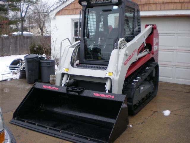 Takeuchi tl140 arrived today | LawnSite