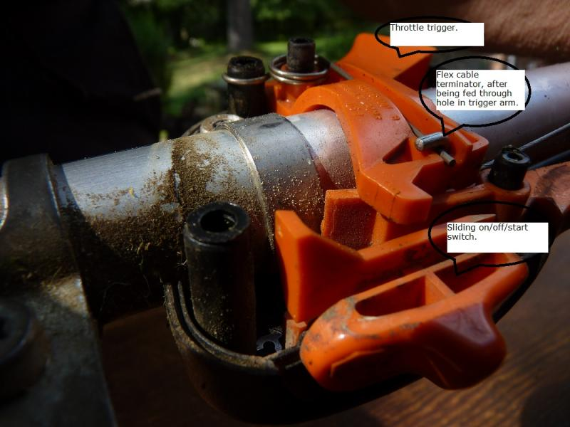 Stihl Trimmer Parts Diagram How Do Replace Trigger On Stihl Weedeater