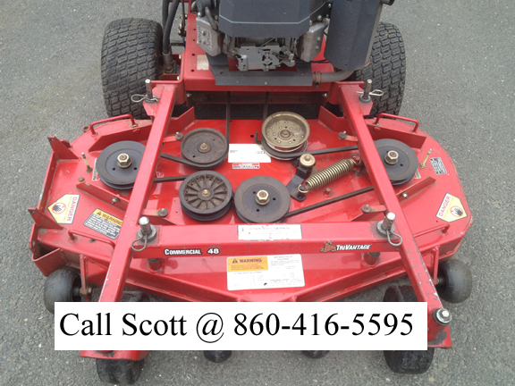 Exmark Turf Tracer HP 48 / 17hp extras / low hours | LawnSite