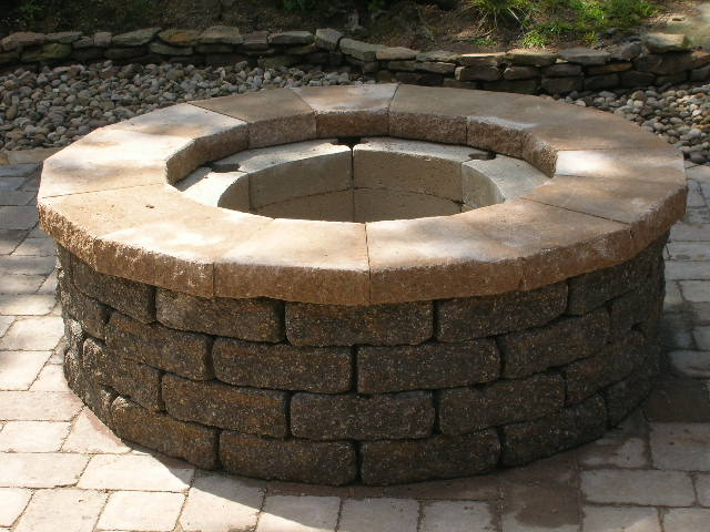 How To Cut Caps For A Fire Pit Lawnsite