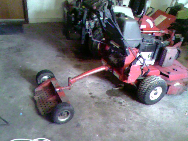 Can i put a sulky on this mower?? | LawnSite