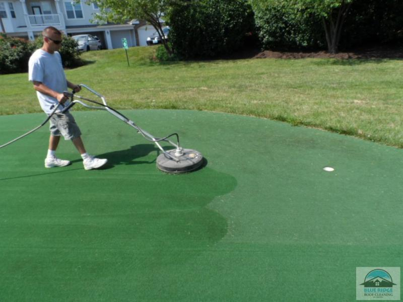 Synthetic Putting Green Cleaning Lawnsite