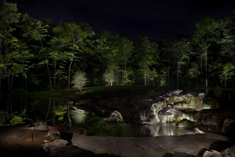 Richmond pond_waterfall_night.jpg