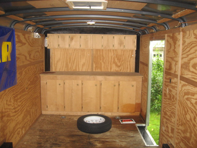 Enclosed Trailer Shelving >> Shelving Ideas Or Pictures For Enclosed Trailers Lawnsite