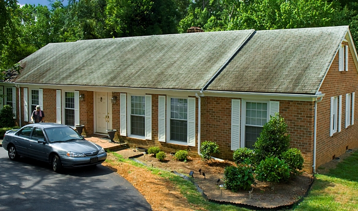 Roof Cleaning Pro - Greensboro North Carolina (before)2.jpg