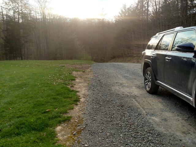 Gravel Driveway Edge
