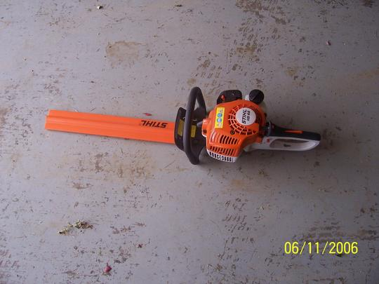 STIHL HS 45 Hedge Trimmer.JPG