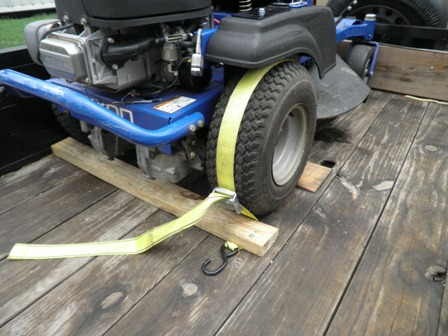 Homemade Ztr Tie Down System Lawnsite