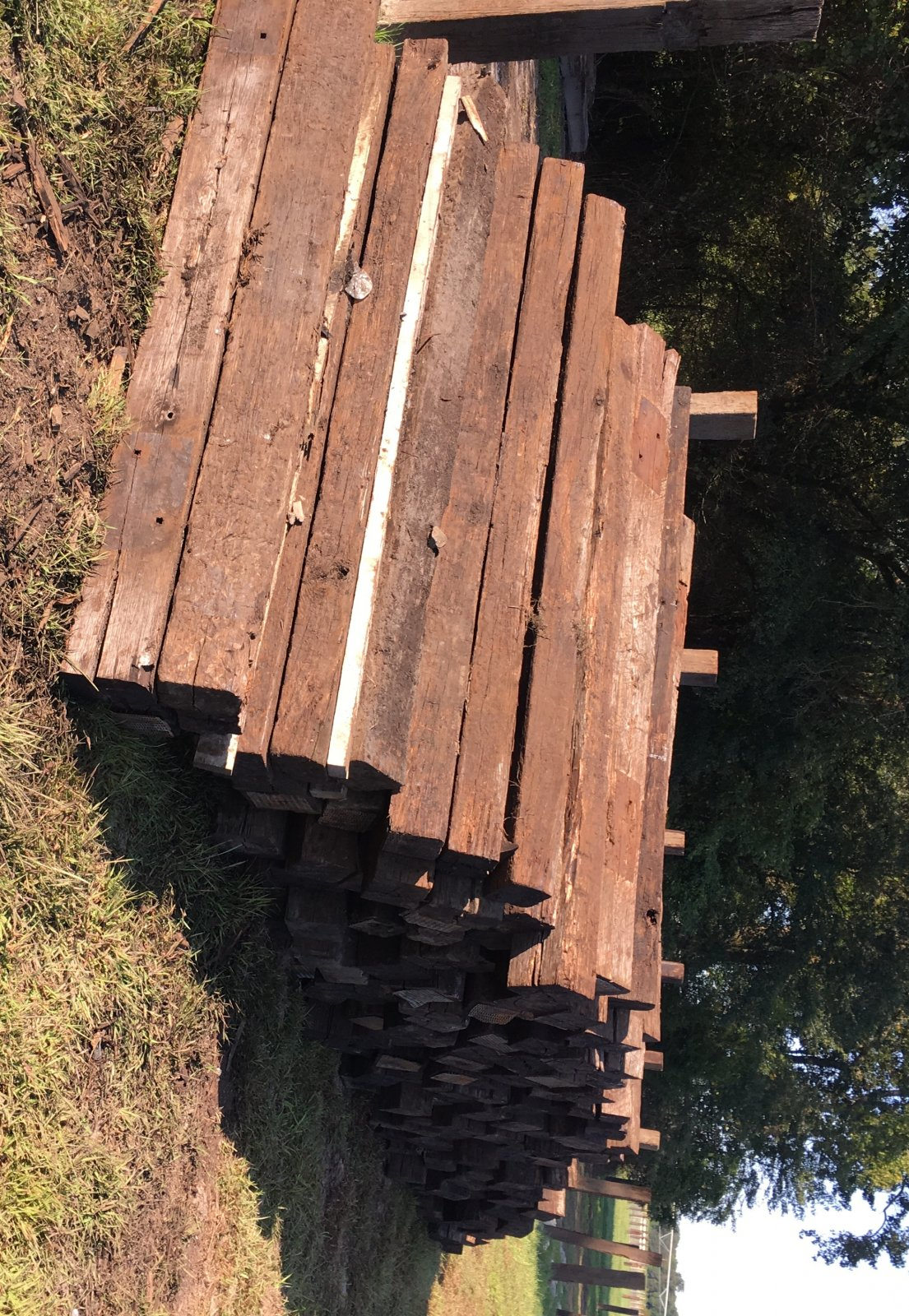 Used Railroad Ties | LawnSite