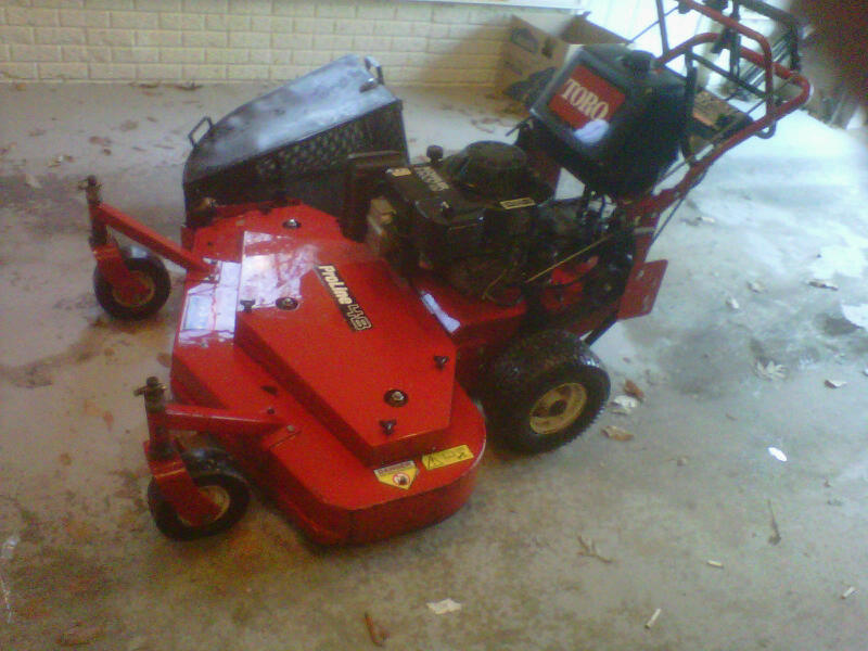 How can you find the year built on toro? | LawnSite