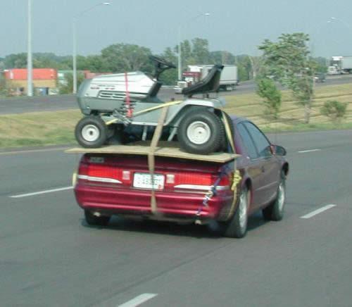 Tractor on car.jpg