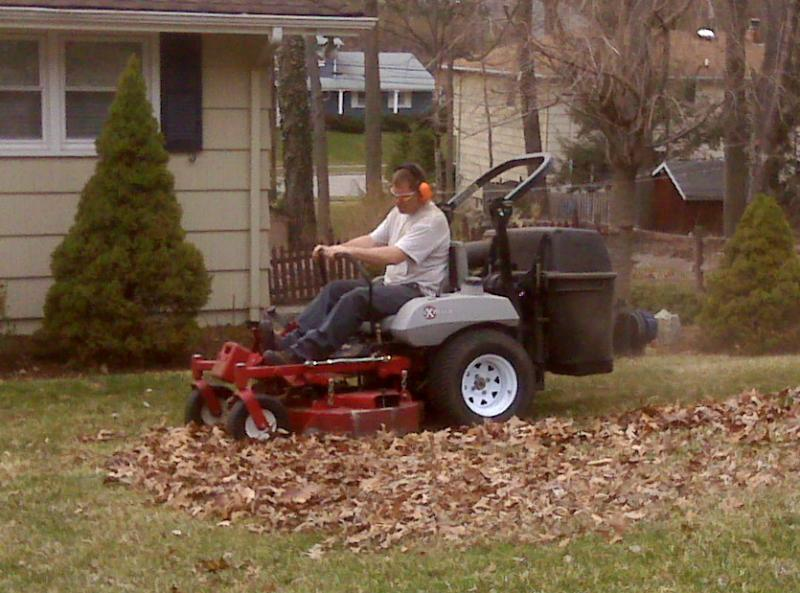 Tracy on new mower.jpg