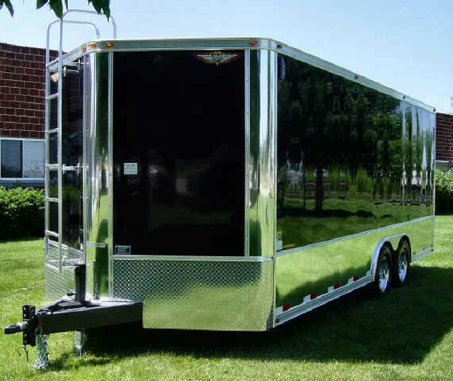 V Nosed Vs Flat Faced Enclosed Trailers Lawnsite