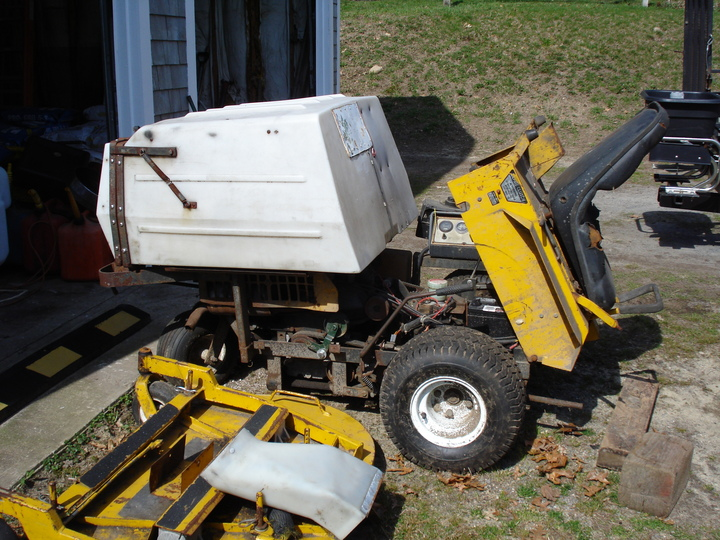 walker mower for parts or repair lawnsite no time or space left and must get rid of the motor runs but needs wiring harness work and 1 hydro is blown it is located in zip 02562 300 or bo