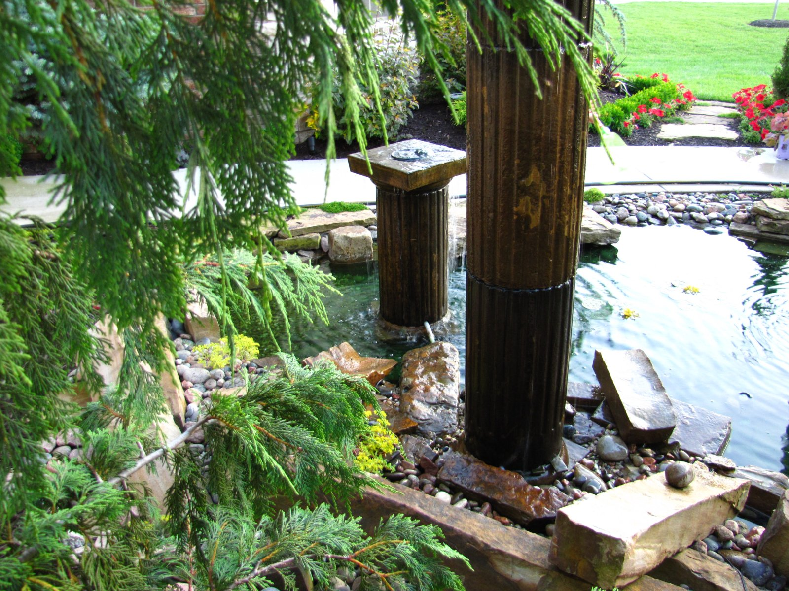 waterfeature installation and pond install in washingtonstate (7).JPG